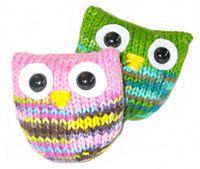 Ravelry: Owl Puffs pattern by Jenna Krupar
