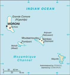 Comoros Islands  Comores