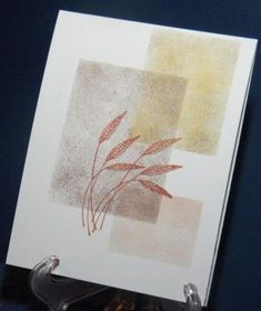 CAS153 Autumn Wheat by momof5sons - Cards and Paper Crafts at Splitcoaststampers