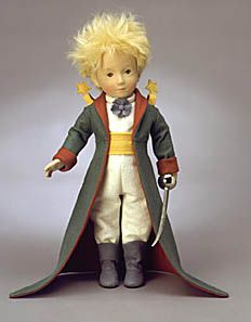 The Little Prince (Centenary Edition), by R. John Wright, was produced in in the year 2000 in conjunction with the anniversary of the birth of author Antoine de St. Christopher Robin, Felt Fabric, Fabric Dolls, Antique Dolls, Vintage Dolls, John Wright, Elves And Fairies, Art And Craft Design, The Little Prince