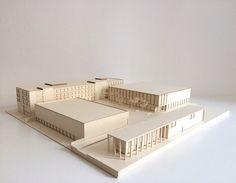 Amelie Barth | Modell | Entwerfen und Gebäudelehre II | Bauhaus-Universität Weimar