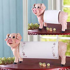 Love the paper towel holder! Suuuuuweeee!!!Leuk Varken Paper Holder – EUR € 32.99