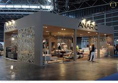 Design, Assembly and Dismantling Stand Anaric - Fair Habitat, Valência - Setembro 2012