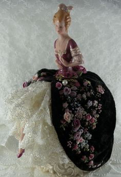 Pincushion doll - Isn't this one pretty?