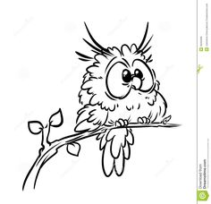 Bird owl coloring pages stock illustration. Illustration of bird - 36293399 Bird owl coloring pages Bird Drawings, Cartoon Drawings, Animal Drawings, Easy Drawings, Owl Coloring Pages, Coloring Books, Kids Coloring, Mandala Coloring, Coloring Sheets