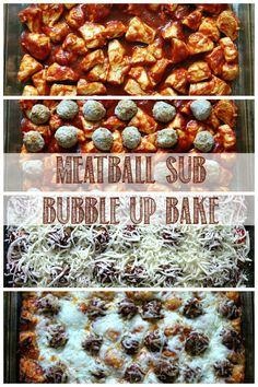 Meatball Sub BubbleUp Bake