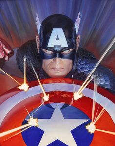 Captain America by Alex Ross *