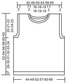 Knit Vest Pattern, Sweater Knitting Patterns, Knit Patterns, Knitting Charts, Free Knitting, Baby Knitting, Drops Design, Crochet Cross, Crochet Diagram