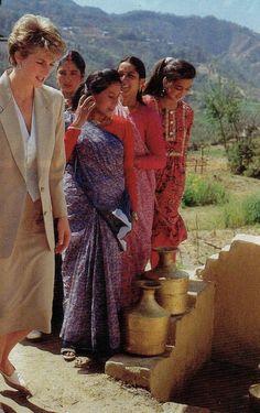 Princess Diana Nepal Tour 06 Mars 1993
