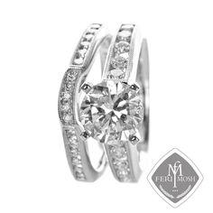 Global Wealth Trade Corporation - FERI Designer Lines Gold Wedding Rings, Bridal Rings, Wedding Bands, Gold Rings, Bridal Collection, Jewelry Collection, Matching Rings, One Ring, Luxury Jewelry