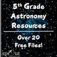 5th Grade Astronomy