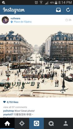 Place de l'Opéra in Paris, Île-de-France