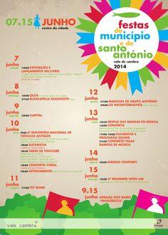 Festas de Santo António  7 a 15 Jun 2014 @ Vale de Cambra  #StoAntonioVCambra #ValeDeCambra