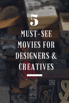 Beautiful & Creative Movies for Designers #design #designer #creative #movies