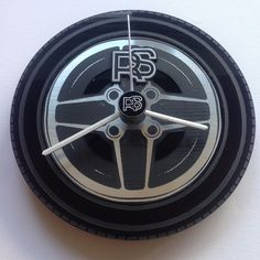 Classic Ford Escort RS2000 Capri Cortina RS wheel wall clock custom mancave | eBay