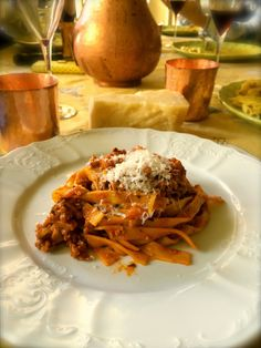 I got his recipe from a fantastic restaurant in Bologna, the birth place of the Bolognese sauce. 250 grams pork minced meat 250 grams v...