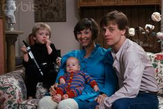 Mark Hamil with his family