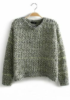 Loose Wool Pullover