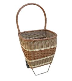 Get the best deals for Wheeled Shopping Basket here - Product http://redhamper.co.uk/wheeled-shopping-basket/ #shoppingbaskets #shoppingbaskets
