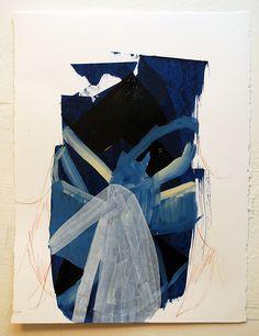 Benjamin Gardner 2014 acrylic and ink on paper