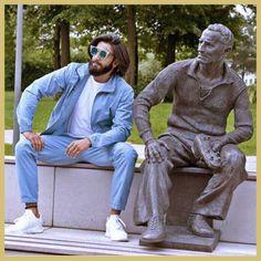 Ranveer Singh in Adidas at Adidas Headquarters, Germany, MyFashgram