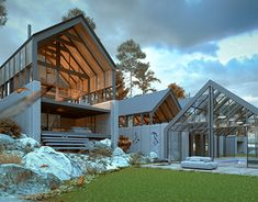Scandinavian Home, New Work, Behance, Profile, Houses, Cabin, Architecture, House Styles, Gallery