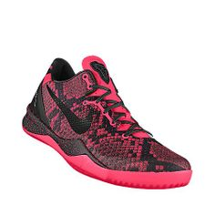 My customized Kobes that I made to go with my breast cancer awareness elites.