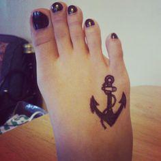 Anchor Tattoos   Fresh 2016 Tattoos Ideas - Part 3 2016 Tattoo, Anchor Tattoos, Foot Tattoos, Tattoo Quotes, Fresh, Ideas, Thoughts, Inspiration Tattoos, Navy Anchor Tattoos