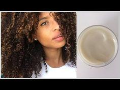 Cómo hacer una crema de peinar casera para rizos - YouTube