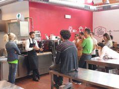 Iscom corso caffetteria con Matteo Gamberi  #caffeterzi  #unatazzaallaltezza