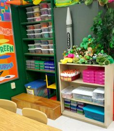 The view as you walk into my room. Other side of the room view. Supply Area Reading Area(Kindergarten starts class with a story. Classroom Setting, Classroom Setup, Classroom Design, Future Classroom, School Classroom, Classroom Arrangement, Classroom Procedures, Classroom Displays, Classroom Activities