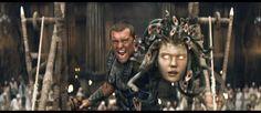 Clash of the Titans Perseus And Medusa, Snake Hair, Clash Of The Titans, Medusa Tattoo, Beautiful Snakes, British People, Greek Mythology, Mythical Creatures, Jon Snow
