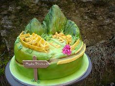 Machu Picchu Cake
