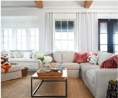 Cut clutter in your living room with these 10 easy tips for storage and organization.