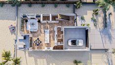 2 Story Modern Farmhouse Style Plan | Mission Bay Bookshelves Built In, Built In Desk, Japan House Design, Narrow Lot House Plans, Cabin Floor Plans, Mission Bay, Roof Plan, Open Layout, Modern Farmhouse Style