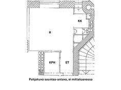 Näytä kuva suurempana uudessa ikkunassa Floor Plans, Diagram, Floor Plan Drawing
