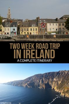 For a small place, Ireland packs a lot in - from history, to general craic and outstanding beauty. This two week itinerary will give you a basic overview of what you might encounter on your trip around the Emerald Isle. You'll gain some idea of what there is to see and do outside particular city centres and where to stay, for a range of budgets and interests. / #Ireland / Irish Road Trip / Ireland Itinerary /  Ireland Road Trip / Two Week Itinerary Ireland / Ireland Travel Tips /