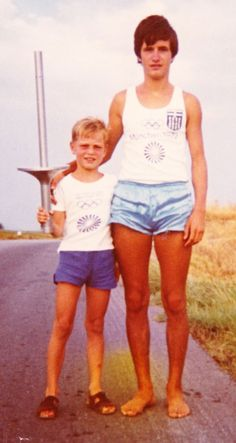 I am looking for the person on the right who was the olympic fire runner back in 1972 somewhere in the north of greece ... please share and help me finding the person
