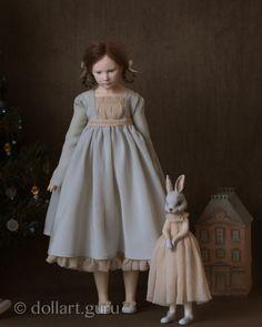 Зайки. Авторские куклы от Юлии Федоренко | Doll Art Guru