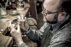 James Avery of Avery Jewelers, Kerrville TX (Portrait of an American Craftsman by Tadd Myers) American Manufacturing, American Craftsman, James Avery, Metal Working, Cool Pictures, Rings For Men, Artisan, Jewels, Portrait