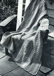 Knitted Patio Stripe Afghan | Free Knitting Patterns