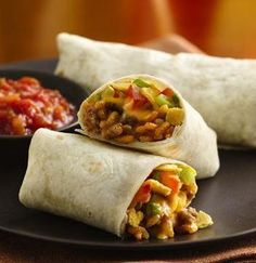 You will be surprised with the crunch in these burritos made with Hamburger Helper®.