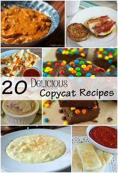 20 Delicious Copycat Recipes