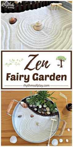 Try any of these easy beach fairy garden ideas (zen, mermaid & more) to make a mini desktop or tabletop fairy garden with a beach theme. Change up the fairy garden accessories to create a different look for your DIY home decor. Indoor Zen Garden, Beach Fairy Garden, Indoor Fairy Gardens, Mini Zen Garden, Miniature Fairy Gardens, Zen Gardens, Easy Garden, Fairies Garden, Jardin Zen Miniature