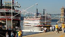 The Belle of Louisville and The Natchez at Tall Stacks, formally known as the Tall Stacks Music, Arts, and Heritage Festival, a festival held every three or four years in the Cincinnati, Ohio area, which celebrates the city's heritage of the riverboat.