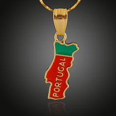 Copper Plated 18K Golden Country Map Theme Portuguesa Portugal Pendant for Necklace Bracelets Women Shinning Accessories Wholesale  http://www.dhgate.com/product/copper-plated-18k-golden-country-map-theme/391216250.html