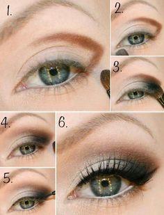 Step by step makeup  fashion -  elegant,  #chic -  makeup  moda