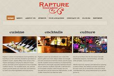 Rapture Restaurant & night club is located at Charlottesville's historic downtown mall. Restaurant specializing in southern cooking featuring local ingredients. Restaurant Offers, Charlottesville, Night Club, Art History, Finance, Restaurants, Projects To Try, Drink, News