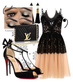 """""""Nite out"""" by jaslanacrystal on Polyvore featuring True Decadence, Christian Louboutin and Adoriana Christian Louboutin, Shoe Bag, Polyvore, Stuff To Buy, Shopping, Shoes, Collection, Design, Women"""
