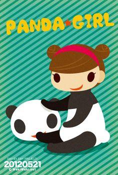 PANDA GIRL.